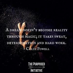 A dream doesn't become reality through magic