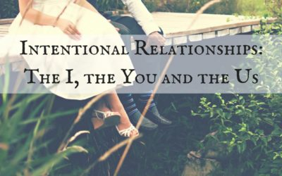 Intentional Relationships: The I, the You and the Us