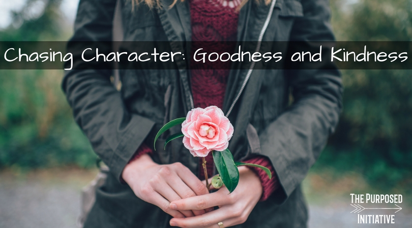 Chasing Character: Goodness and Kindness