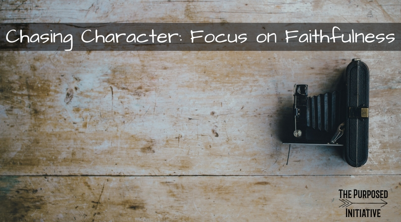 Chasing Character: Focus on Faithfulness